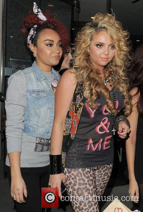 Leigh-Anne Pinnock and Jesy Nelson of Little Mix...