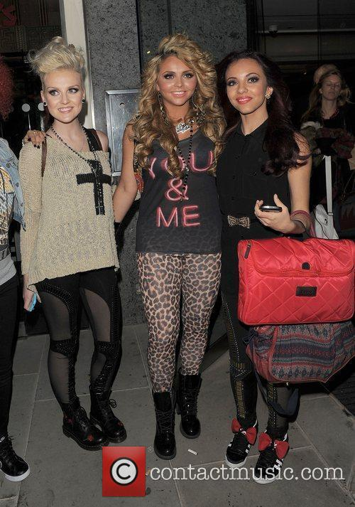 Perrie Edwards, Jesy Nelson, and Jade Thirlwall of...