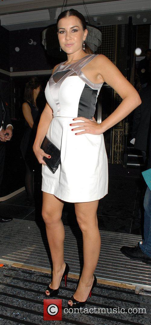 Imogen Thomas ,  at the Hippodrome Casino...
