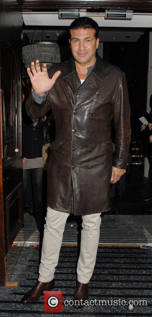 Tamer Hassan ,  at the Hippodrome Casino...