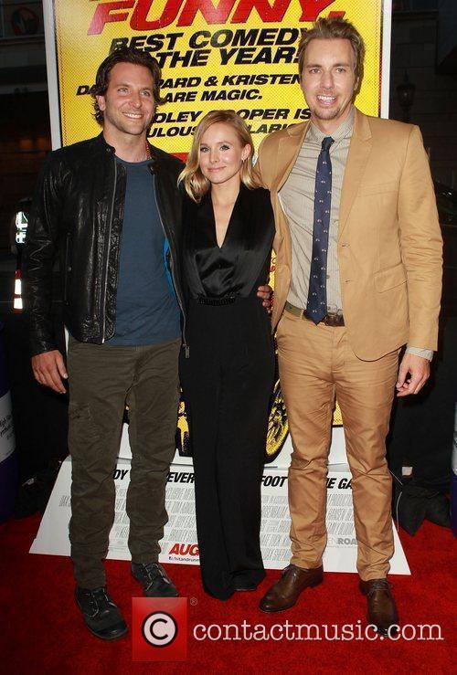 Dax Shepard, Bradley Cooper and Kristen Bell 2