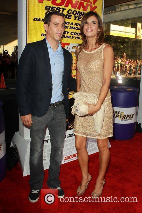 Steve-o and Elisabetta Canalis 2