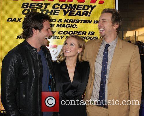 Bradley Cooper, Dax Shepard and Kristen Bell 2