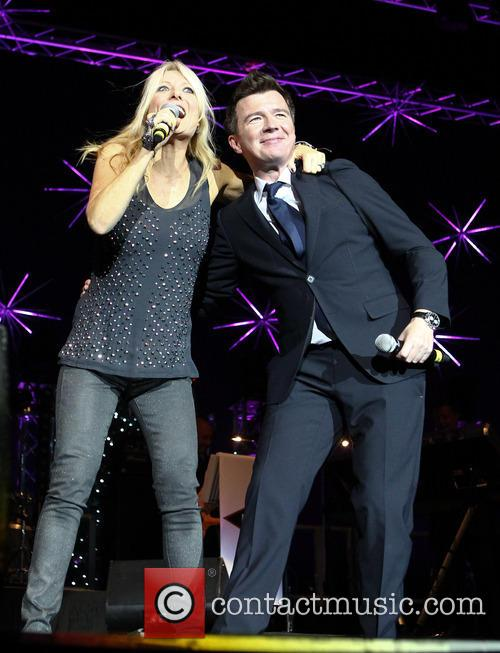 Gaby Logan and Rick Astley 2