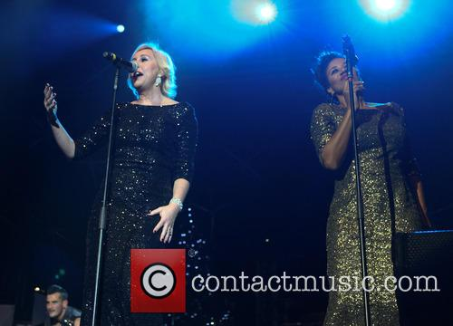 Pepsi and Shirlie Hit Factory Live's 'Christmas Cracker'...