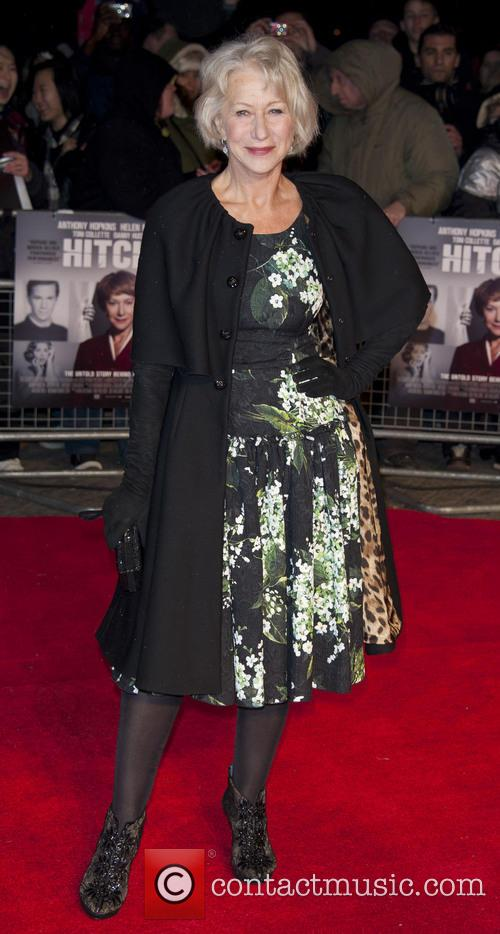 The premiere of 'Hitchcock' at the BFI Southbank...
