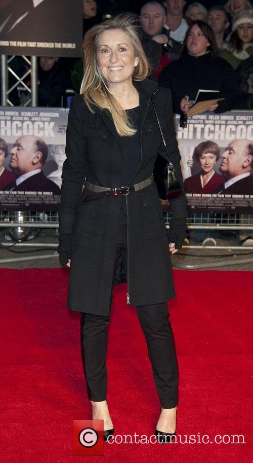 Fiona Philips The premiere of 'Hitchcock' at the...