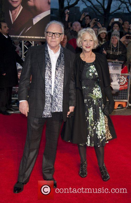 Sir Anthony Hopkins and Dame Helen Mirren 4