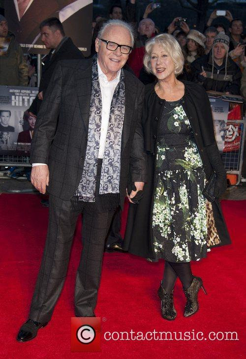 Sir Anthony Hopkins and Dame Helen Mirren 5