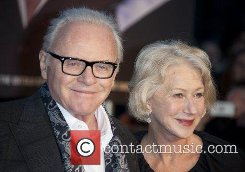 Sir Anthony Hopkins and Dame Helen Mirren 3