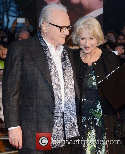 Sir Anthony Hopkins and Dame Helen Mirren 7