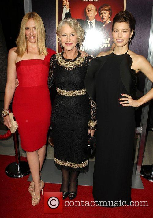 Toni Collette, Helen Mirren and Jessica Biel 3
