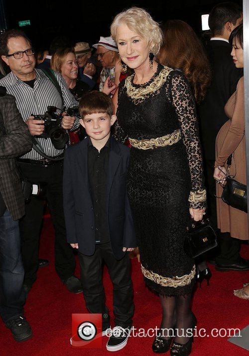 Helen Mirren and Felix Mirren 3