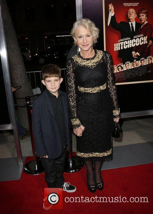 Helen Mirren and Felix Mirren 11
