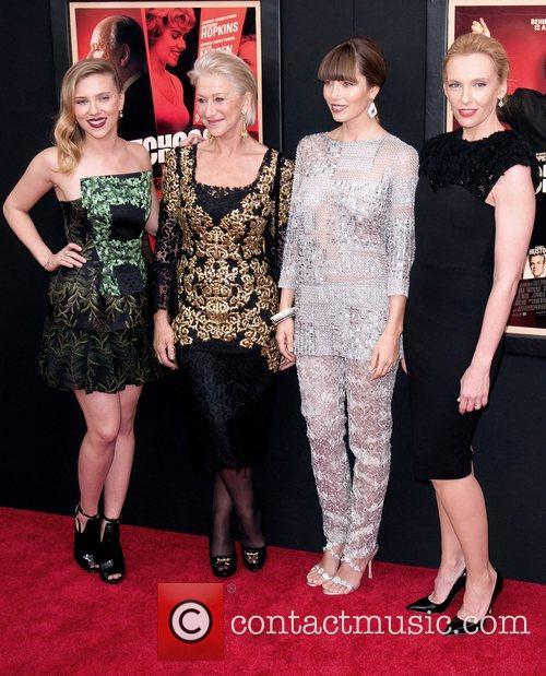 Scarlett Johansson, Helen Mirren, Jessica Biel and Toni Collette 8