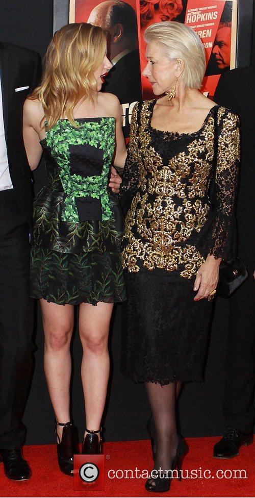 Scarlett Johansson and Helen Mirren,  at the...