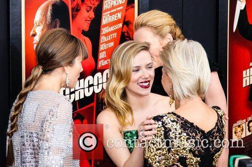 Jessica Biel, Scarlett Johansson, Helen Mirren and Toni...