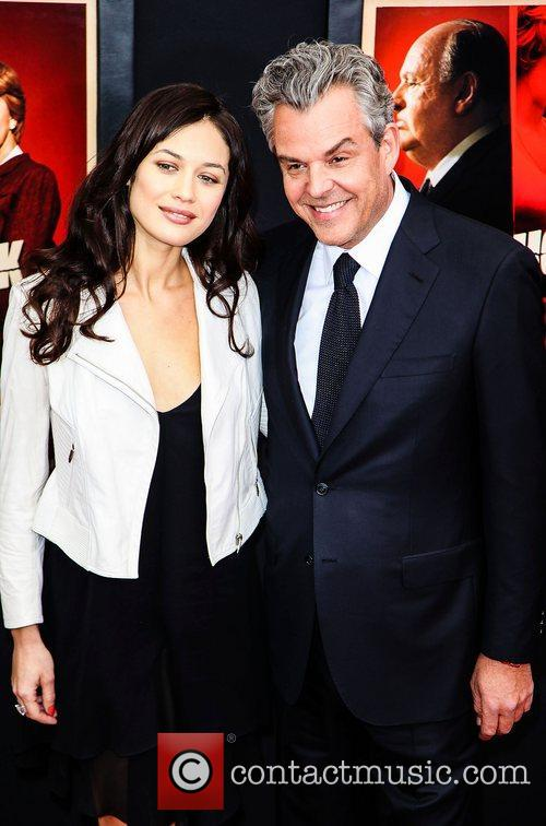 Olga Kurylenko and Danny Huston 2