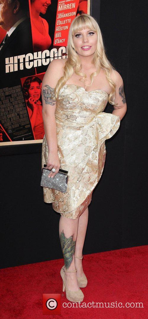 Emma Jacobs,  at the 'Hitchcock' premiere at...
