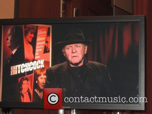 Antony Hopkins The cast of 'Hitchcock' attend a...