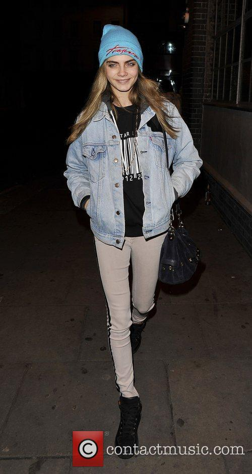 Cara Delevingne  at The Forum for Rihanna's...