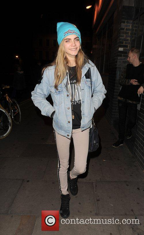 Cara Delevigne, Rihanna, Forum and Kentish Town 14