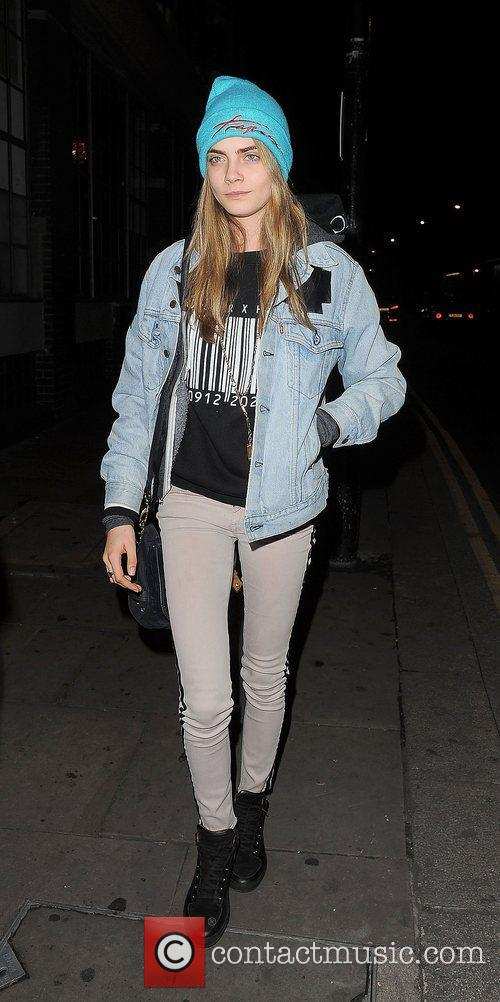 Cara Delevigne, Rihanna, Forum and Kentish Town 8