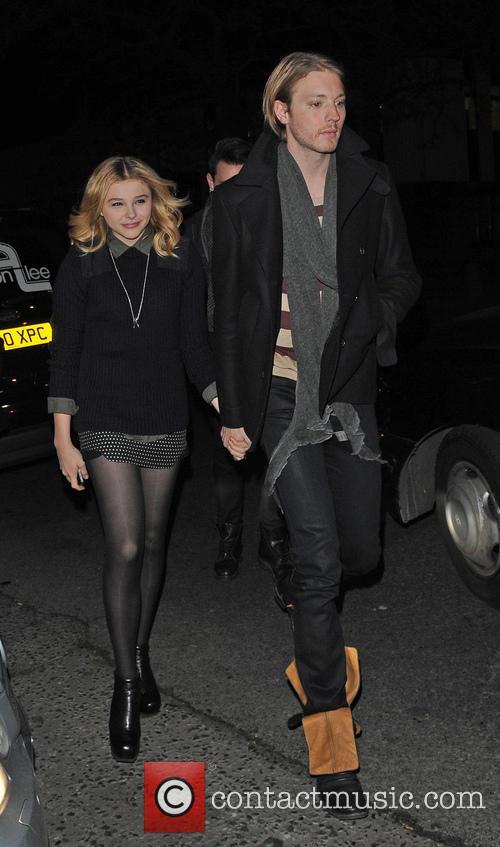 Celebrities leaving Rihanna's gig at the HMV Forum,...