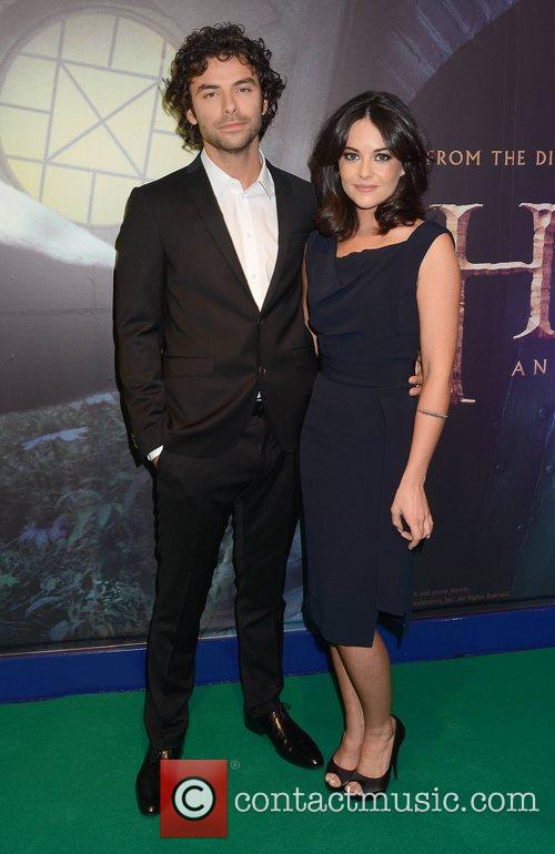 Aidan Turner, Sarah Greene