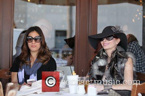 Socialites Hofit Golan and Phoebe Price