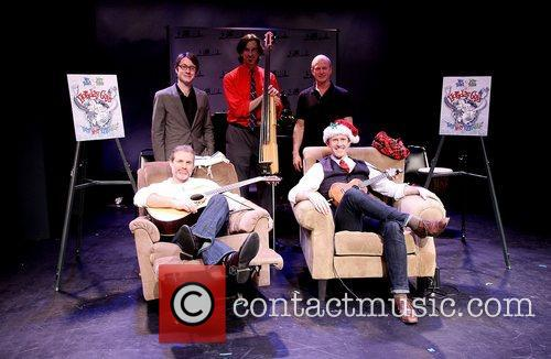 Marc Kudisch, Jeffry Denman and cast at the...