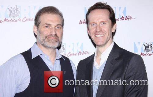Marc Kudisch; Jeffry Denman The opening night after...