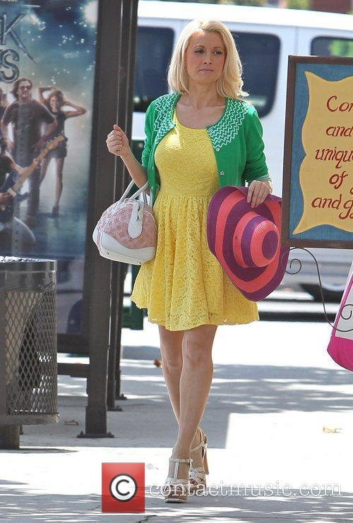 Holly Madison  seen shopping in West Hollywood...