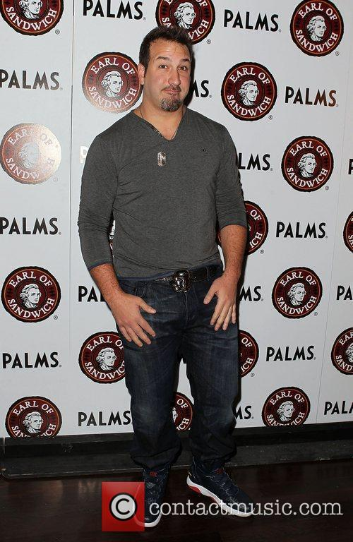 joey fatone at the grand opening of 3973711