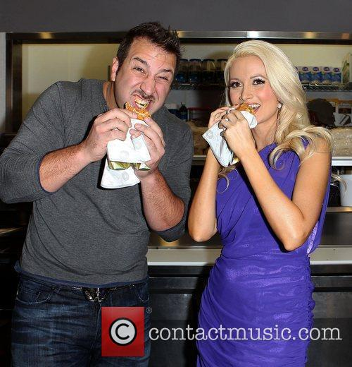 Joey Fatone and Holly Madison 9