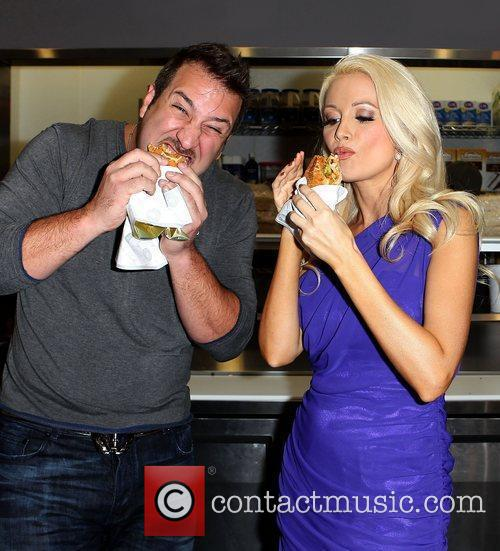 Joey Fatone and Holly Madison 11
