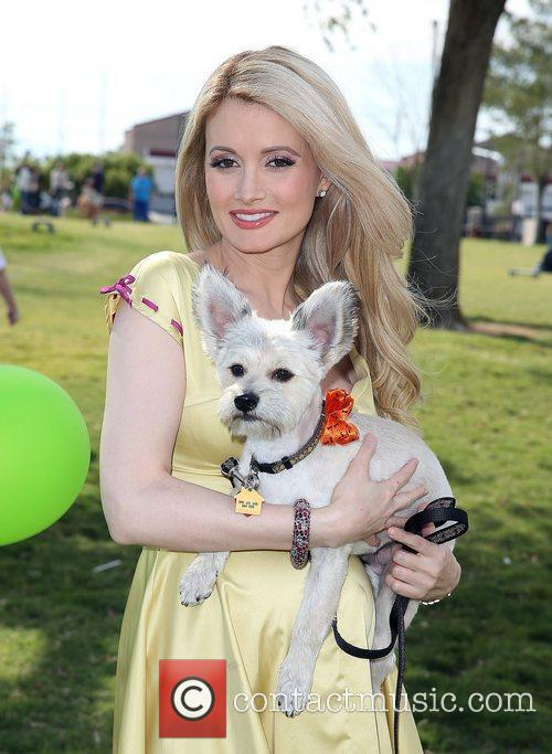 Holly Madison and Rosco 9