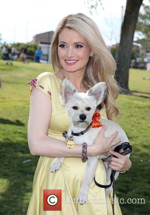 Holly Madison and Rosco 11