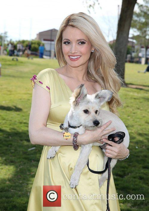 Holly Madison and Rosco 8