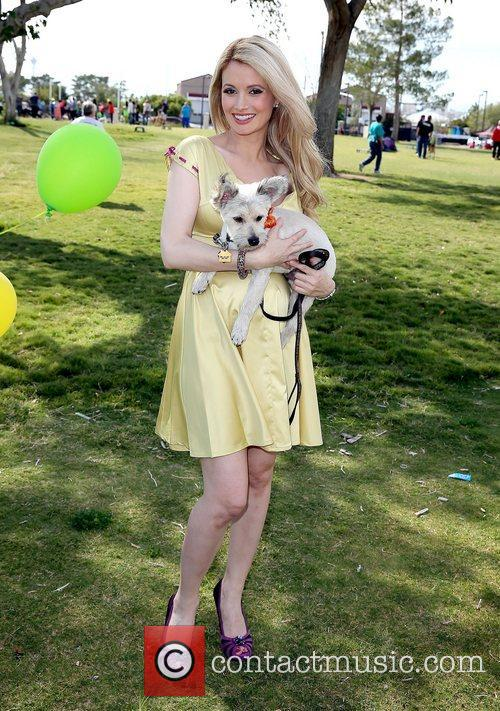 Holly Madison and Rosco 10