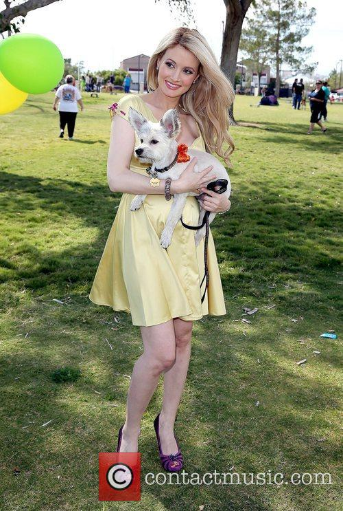 Holly Madison and Rosco 1