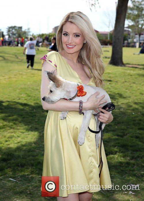 Holly Madison and Rosco 2