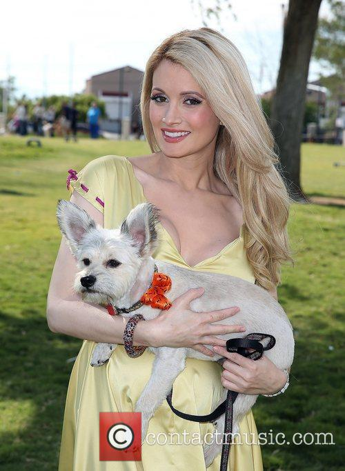 Holly Madison and Rosco 5