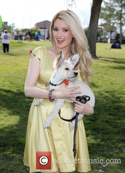 Holly Madison and Rosco 12