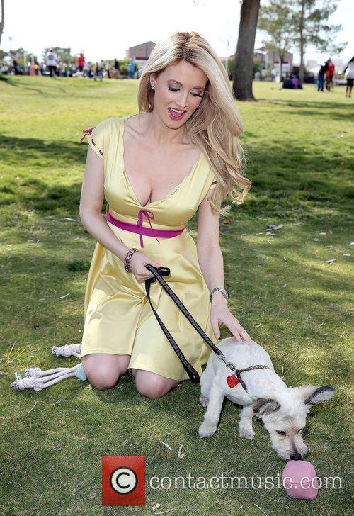 Holly Madison and Rosco 7