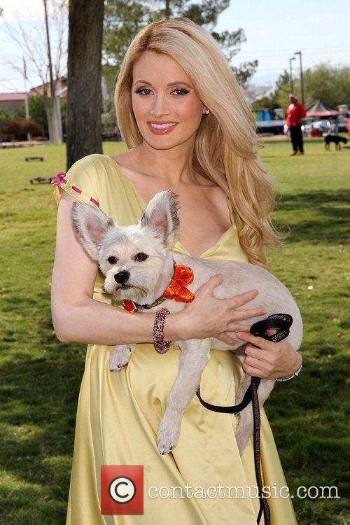 Holly Madison and Rosco 2
