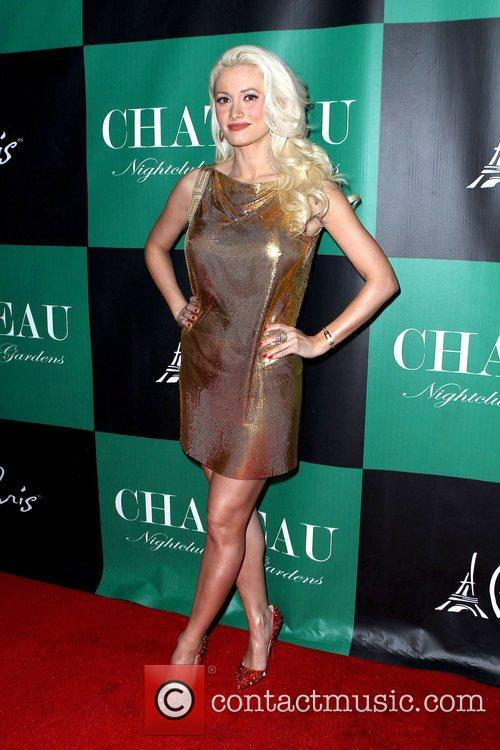 Holly Madison celebrates her birthday at Chateau Nightclub...