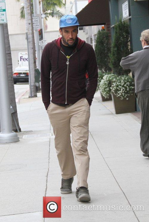 Ben Harper out and about in Beverly Hills...