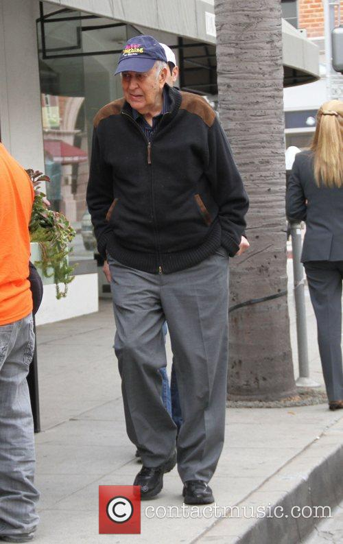 Carl Reiner out and about in Beverly Hills...