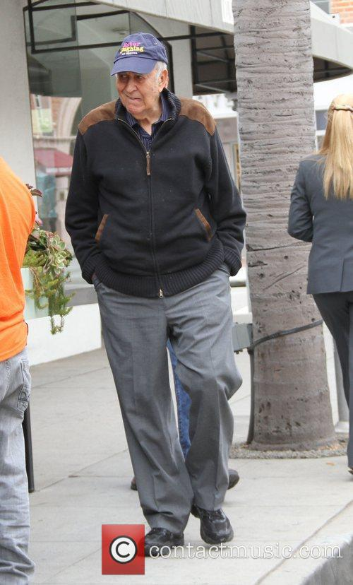 carl reiner out and about in beverly 3715826